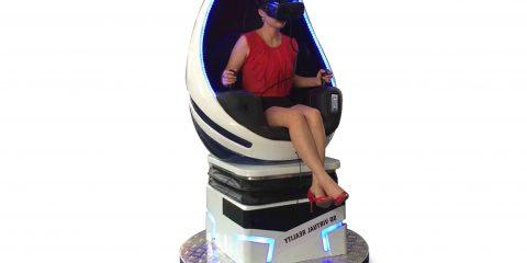 egg chair vr simulator one seat