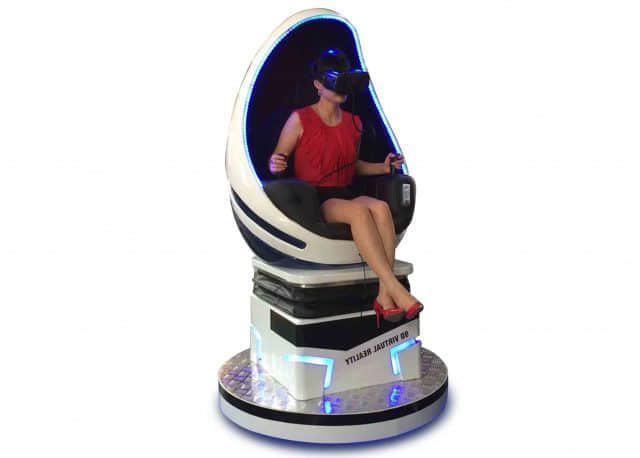 egg chair vr simulator one seat