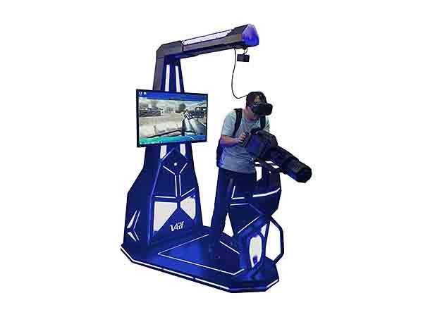 VR shooting game
