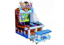 water shooting game machine