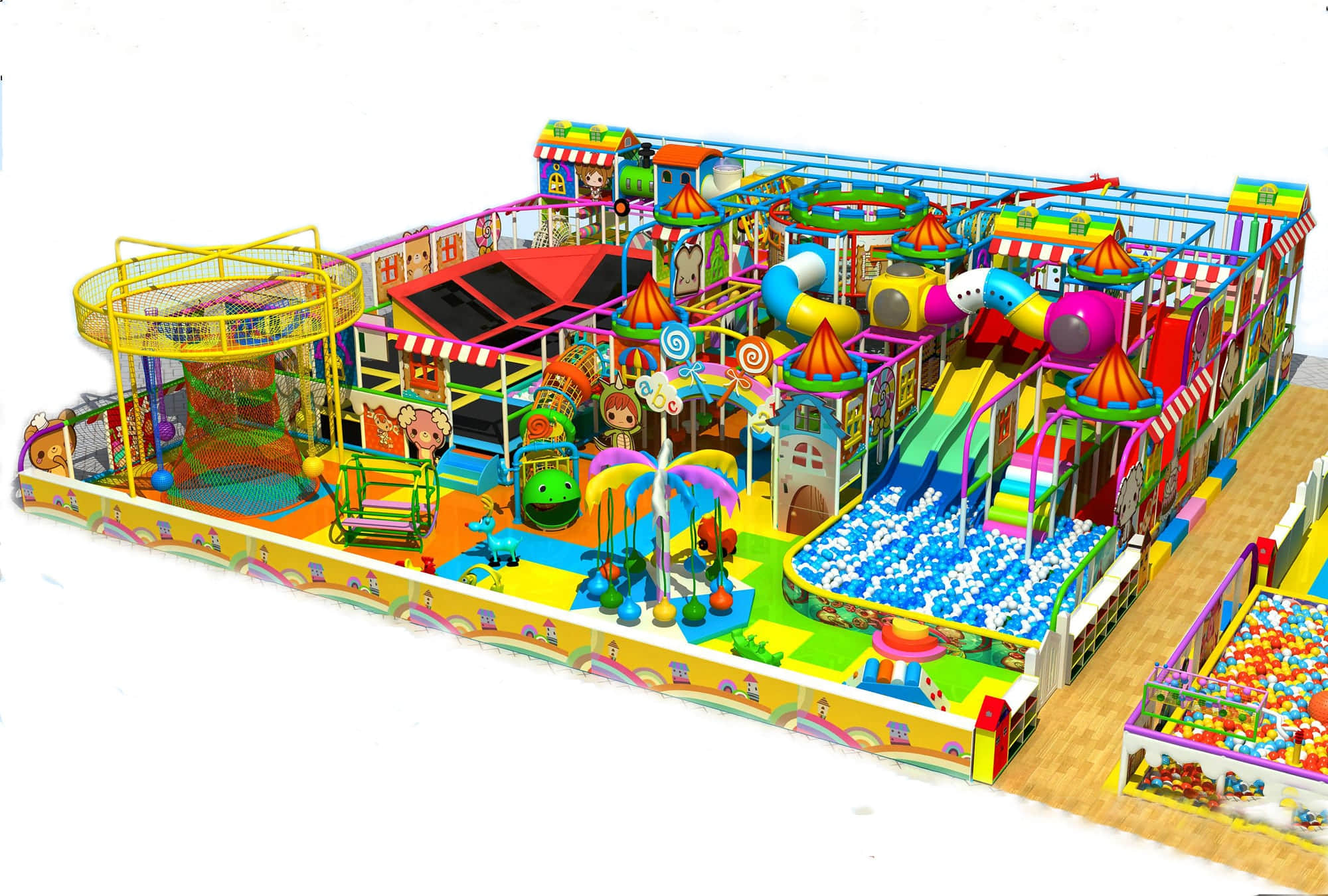 Kids soft play popularity attractions and competitiveness for Best indoor playground for toddlers