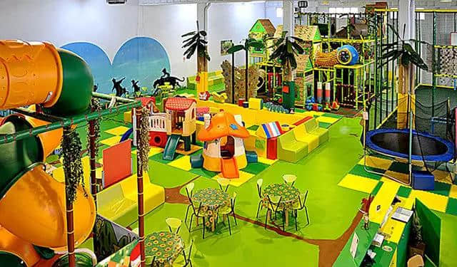 popular indoor playground equipment