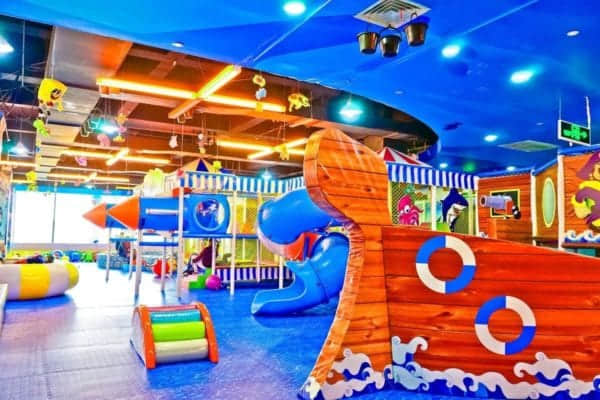 small indoor playground