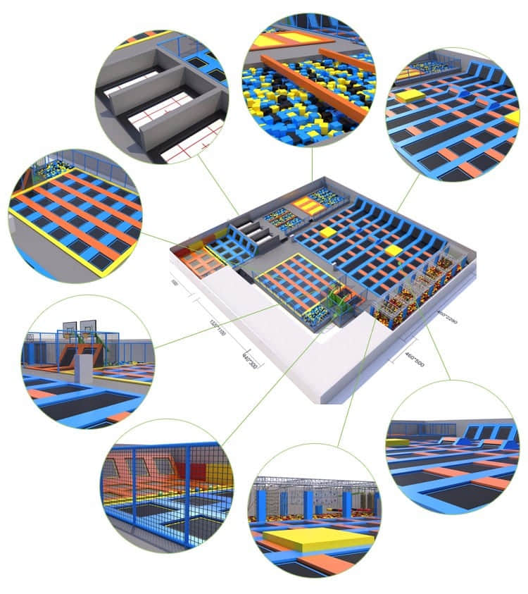 commercial trampolines