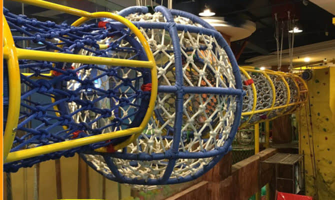 net rope playground