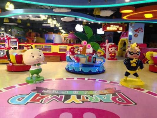 arcade game center