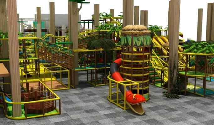 children indoor Play structure game