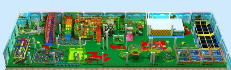 children indoor playground design