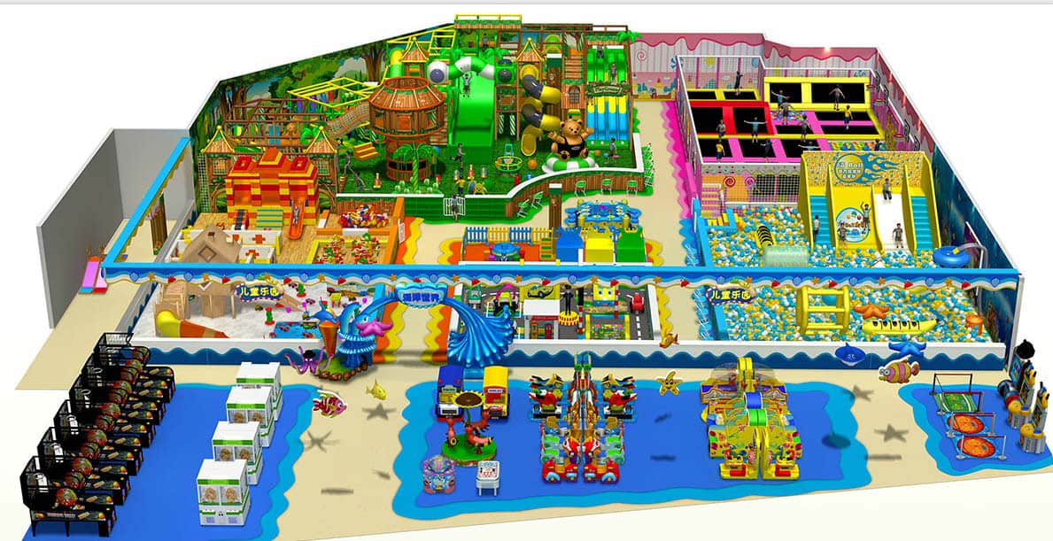 children indoor playground business plan sample