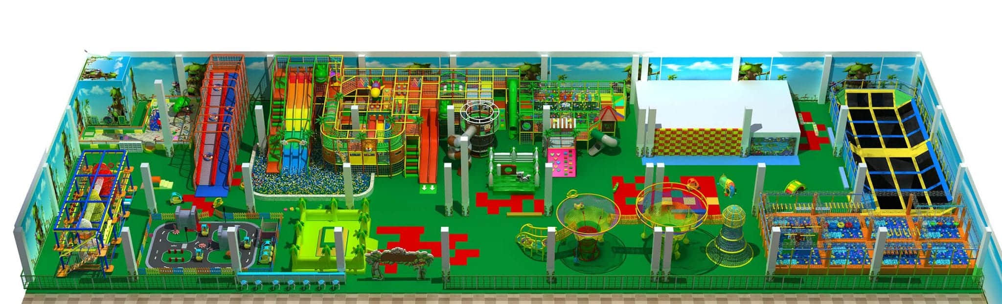commercial children indoor playground design