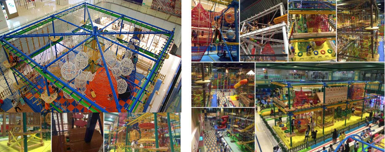indoor rope course