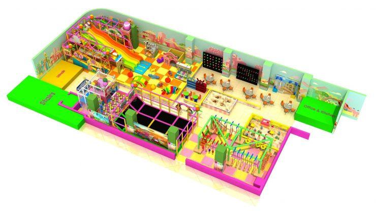 indoor playground site for shopping mall