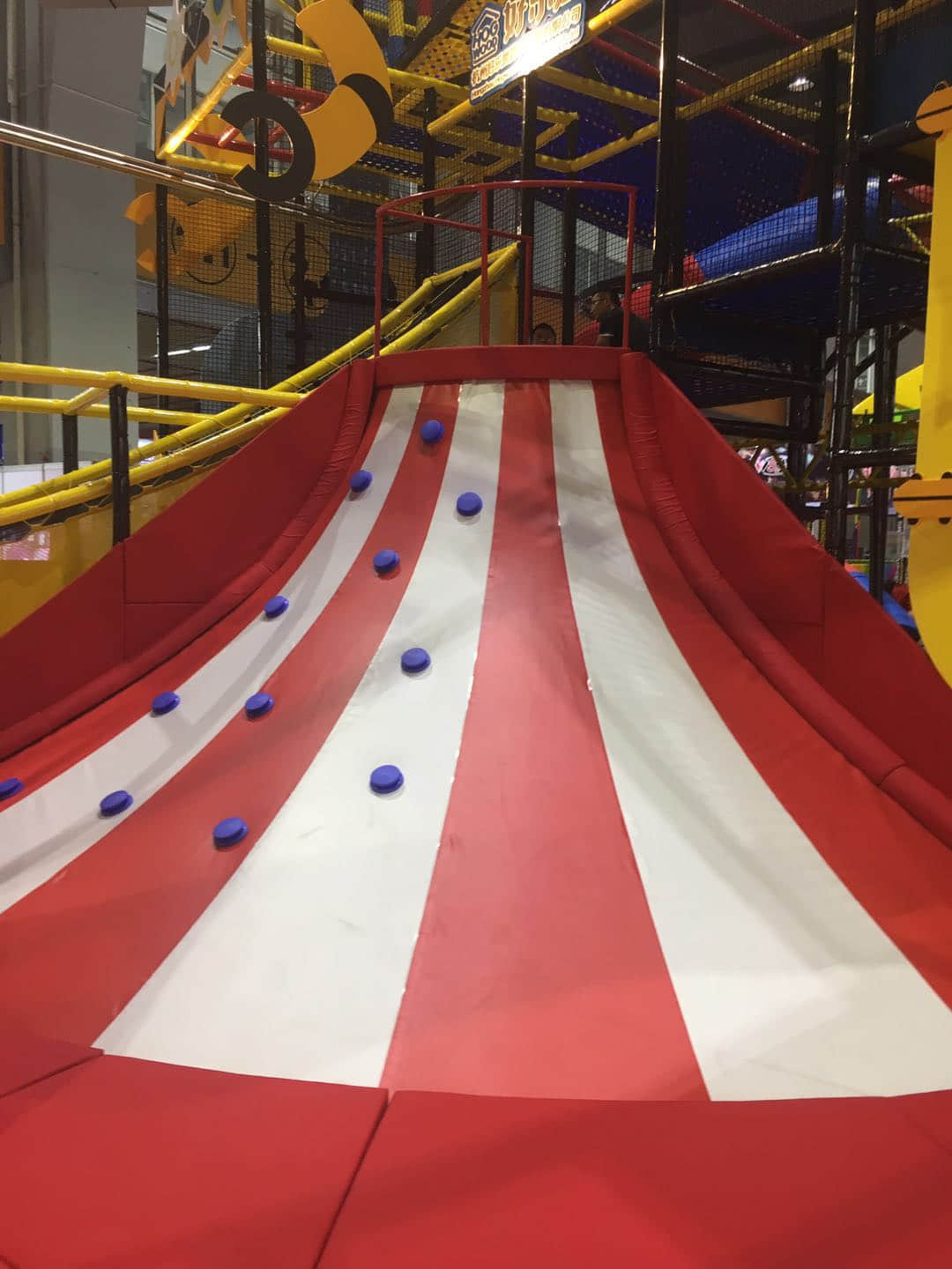 the latest indoor playground equipment