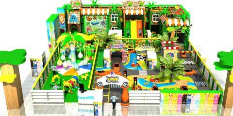toddler indoor playground area
