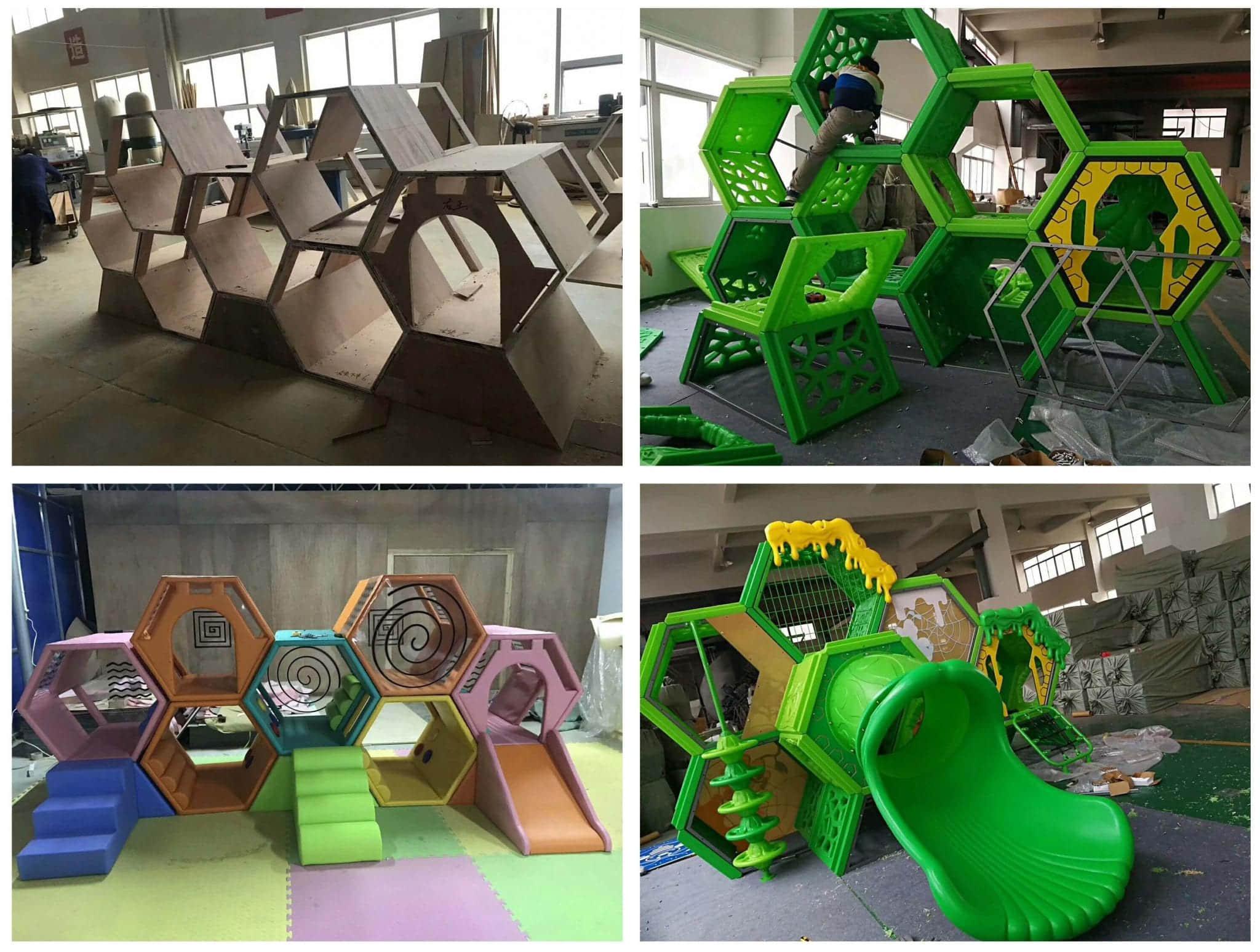 Maze the latest indoor playground equipment