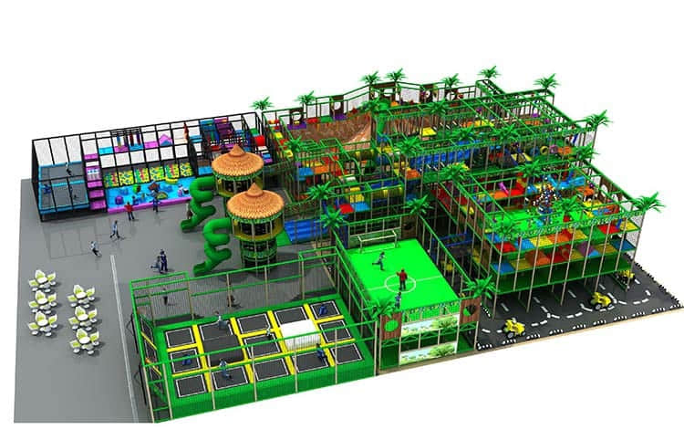 Top Quality Attractive Indoor Playground Supplier