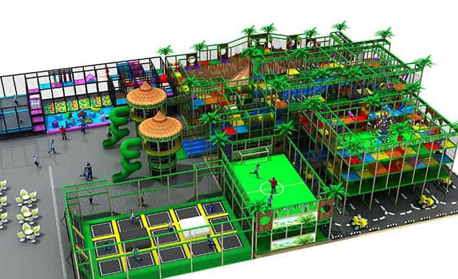 commercial indoor playground supplier