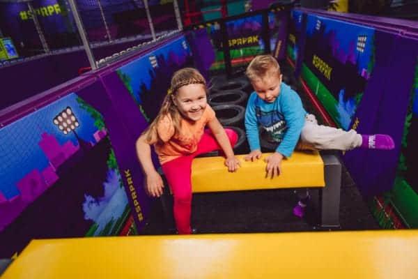 Superpark Jyvaskyla indoor playground