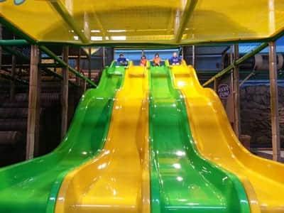Treehouse Indoor Playground Slide