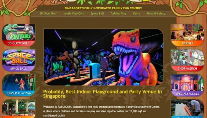 amazonia indoor playground