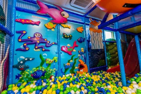 aquarius cove indoor playground