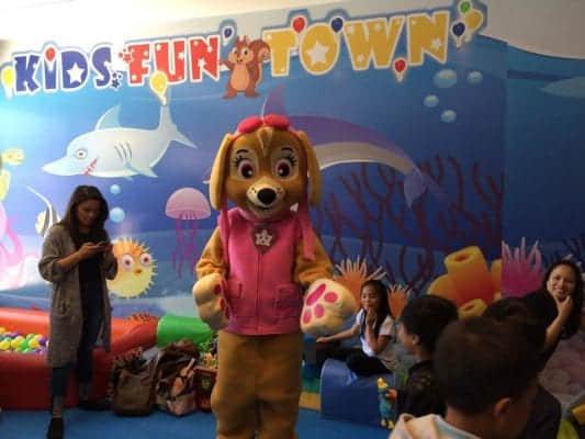 kids fun town indoor playground