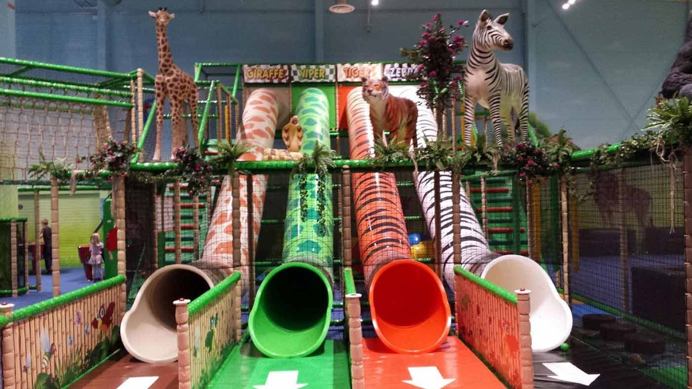 the best indoor playground of Leos Lekland