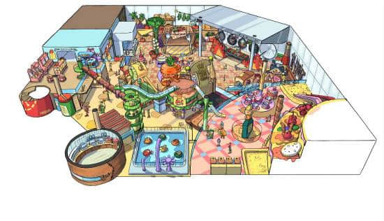 family entertainment center and indoor play center
