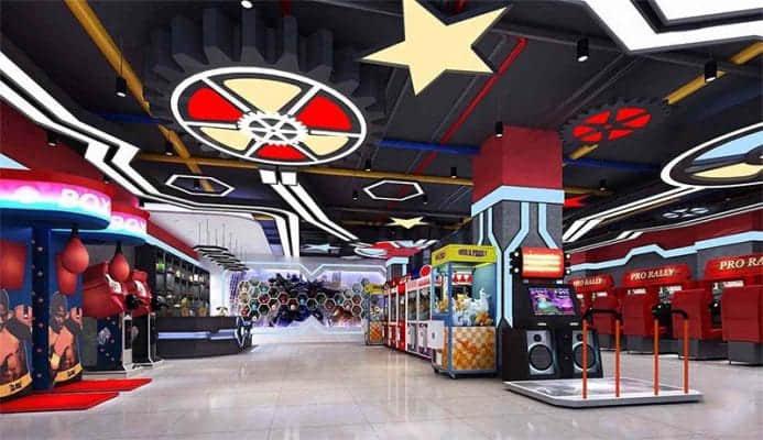 kids special play arcade games center