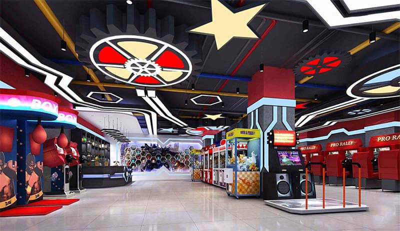 kids special play arcade games center