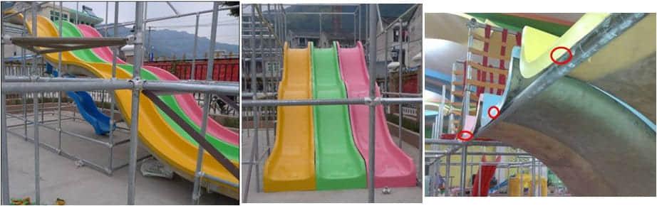 fiberglass slide