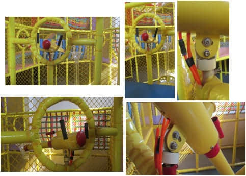 indoor playground ball blaster game
