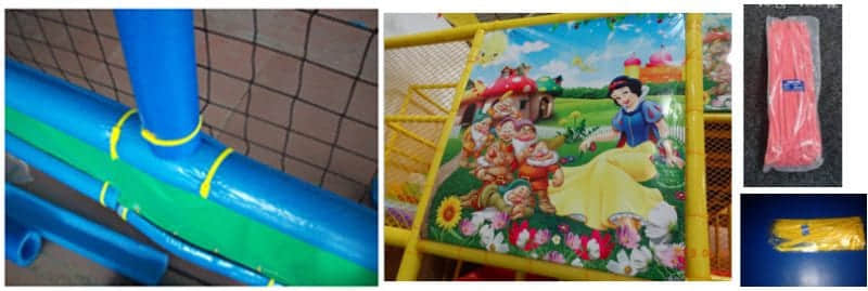 indoor playground soft PVC Cover