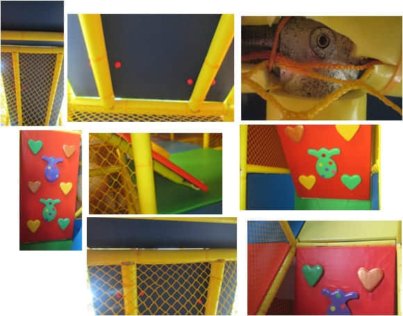 indoor soft play soft rock climbing
