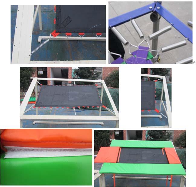 install indoor trampoline park