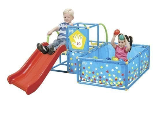 ActivePlay3-in-1JungleGymPlayset indoor slide