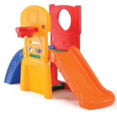 AllStarSportsClimberforToddlers indoor slide