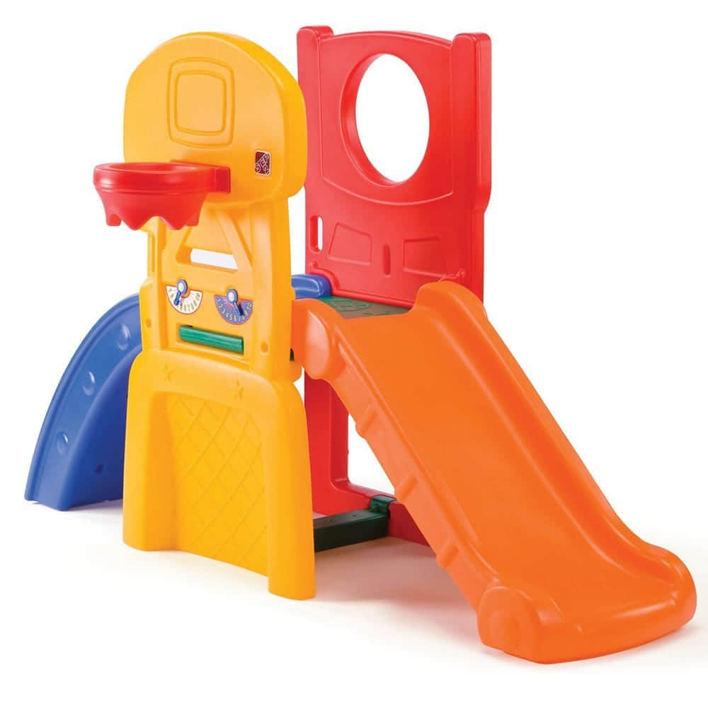 AllStarSportsClimberforToddlers indoor slide