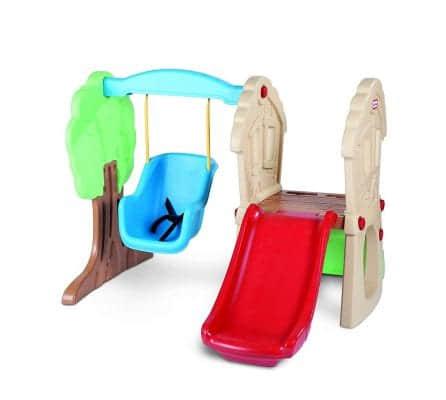 HideandSeekClimberandSwing indoor slide