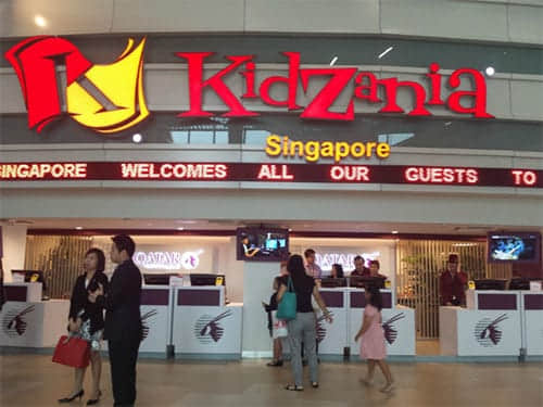 Kidzania indoor play park
