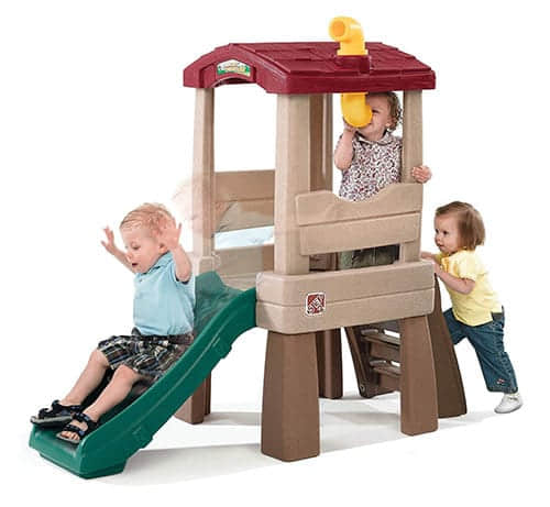 NaturallyPlayfulLookoutTreehouse indoor slide