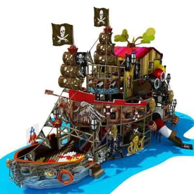 indoor playground design of pirate ship indoor playground themes