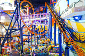 Berjaya Times Square Theme Park indoor family entertainment center