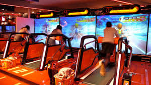 Joypolis Sega Odaiba indoor family entertainment center