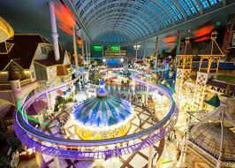 Lotte World's Adventure Indoor Theme Park indoor family entertainment center