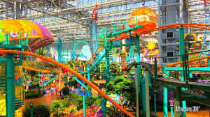 Nickelodeon Universe at Mall of America indoor family entertainment center