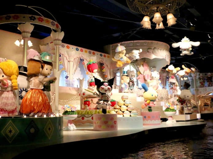 Sanrio Puroland indoor family entertainment center