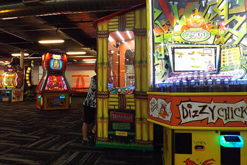 Spooky Nook Sports Center indoor family entertainment center