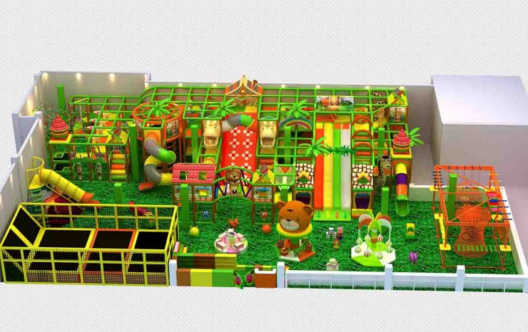 indoor activities in an indoor playground are important for kids