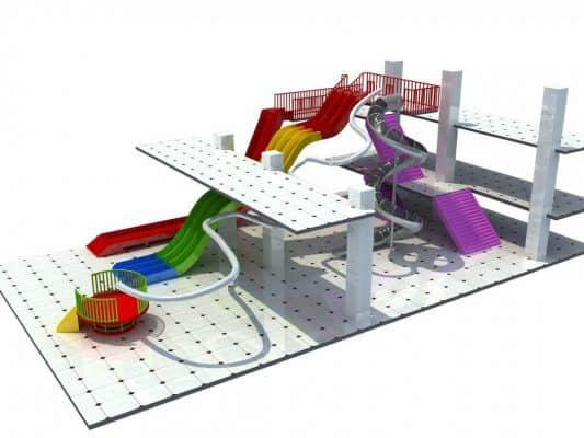 indoor playground slides